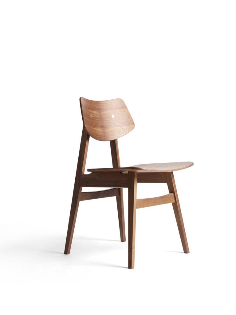 1960 Wood ChairDining Chair, design Niko Kralj, 1960